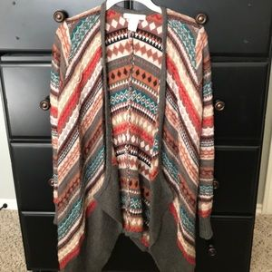 Design History draped cardigan